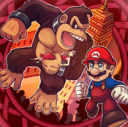 Donkey kong by LC-Holy