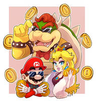 Nintendo money by LC-Holy