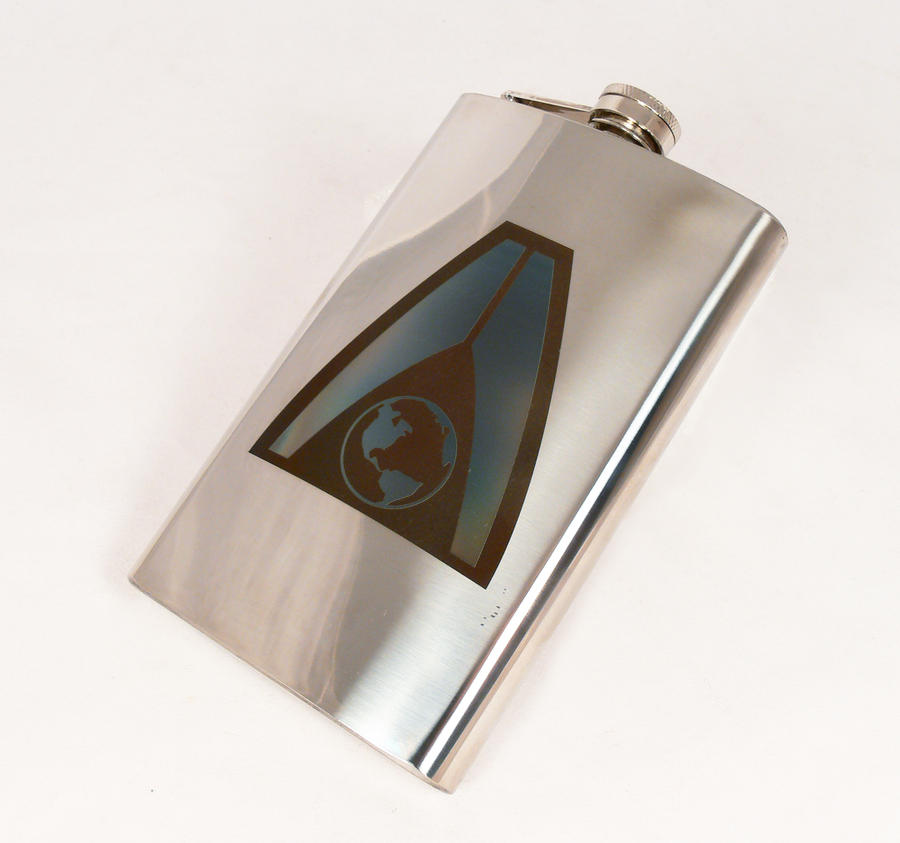 Systems Alliance' flask by Katlinegrey