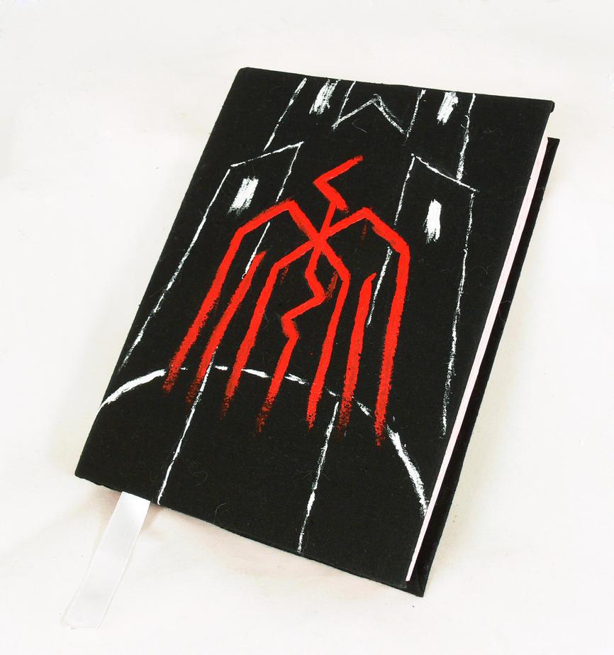 Dragon Age black notebook by Katlinegrey