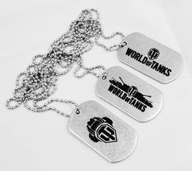 World of Tanks dog tags by Katlinegrey