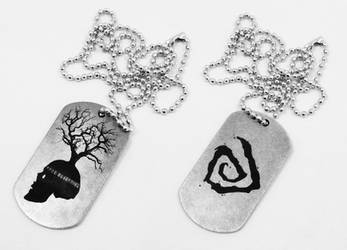 True Devective dog tags by Katlinegrey