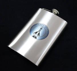 Andromeda Initiative Flask by Katlinegrey