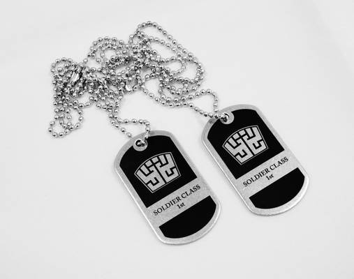 Final Fantasy dog tags