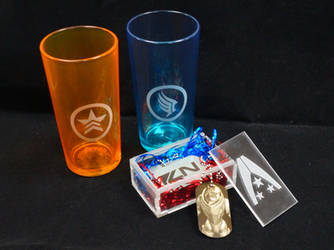 Mass Effect christmas gift by Katlinegrey