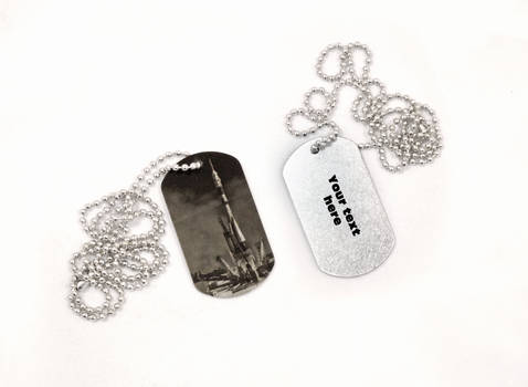 Soyuz dog tag