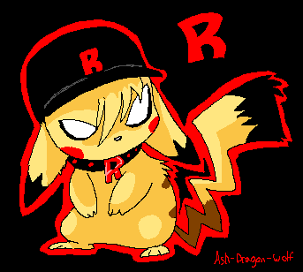 Ash RocketChu by Ash-Dragon-wolf