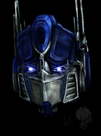 Optimus prime's head by Ash-Dragon-wolf on DeviantArt  Optimus prime&#...