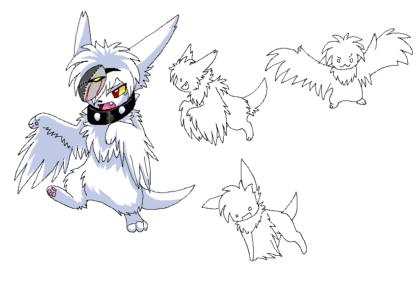 Wingsby Ash Dragonwolf