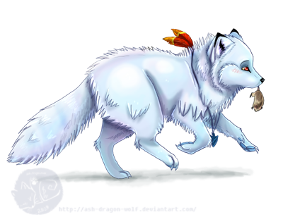 I gots me a lemming by Ash-Dragon-wolf