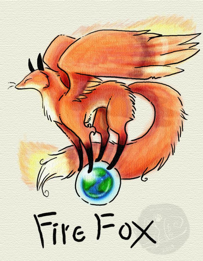 FireFox by Ash-Dragon-wolf