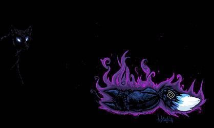 Stray.. by Ash-Dragon-wolf