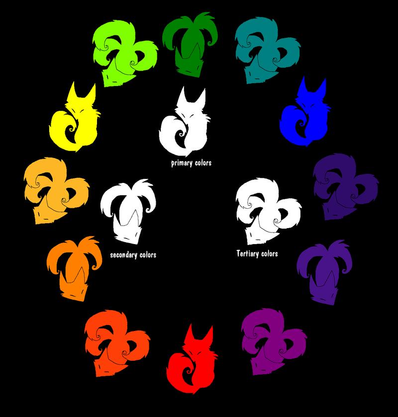 Fox Color Wheel By Ash Dragon Wolf
