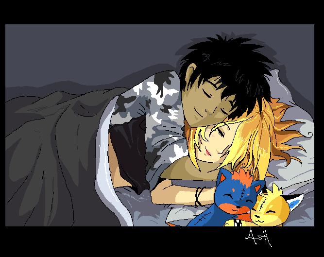 Snuggle by Ash-Dragon-wolf