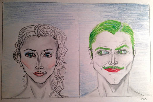 1910~ Joker and Harley