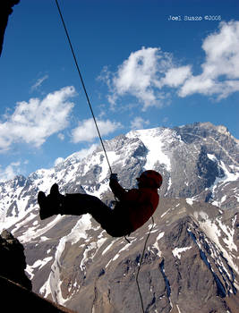 Rappel with Tolosa