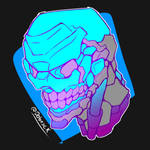 cool robot skull!