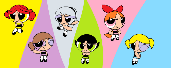 The Powerpuff Girls- Original colors