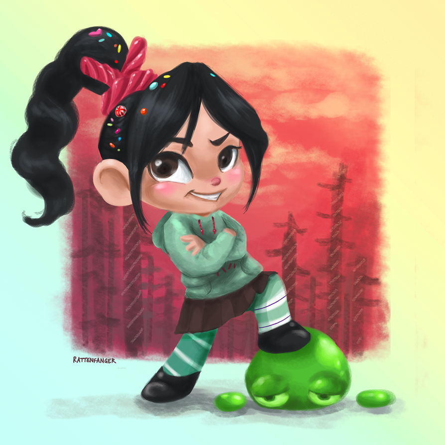 Vanellope by Rattenfanger