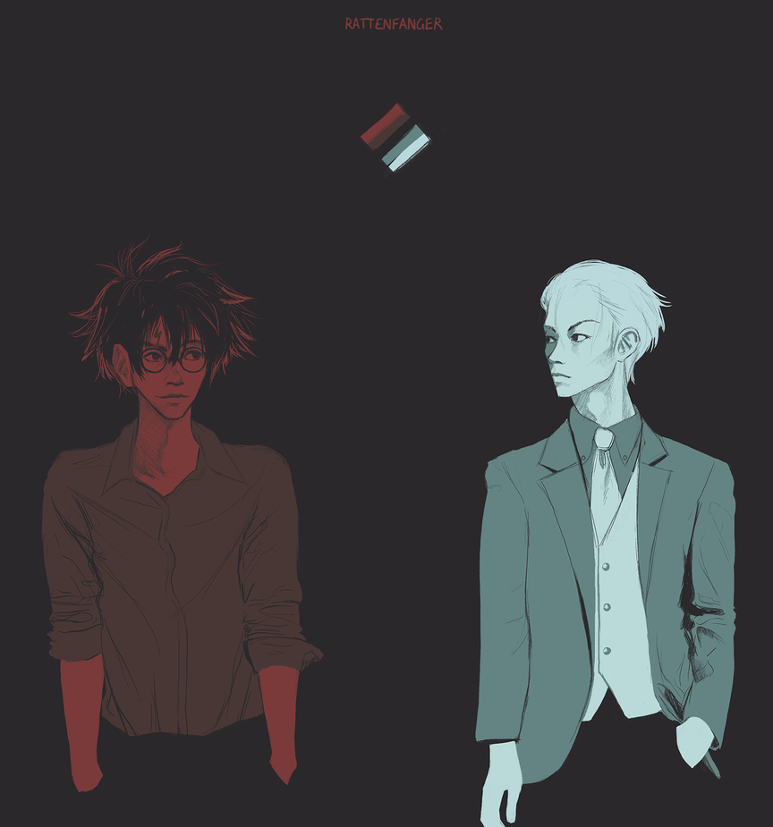 Palette Meme - Harry and Draco #08 by Rattenfanger