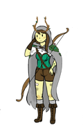Lyra The Forest Witch by Ask-the-Witch