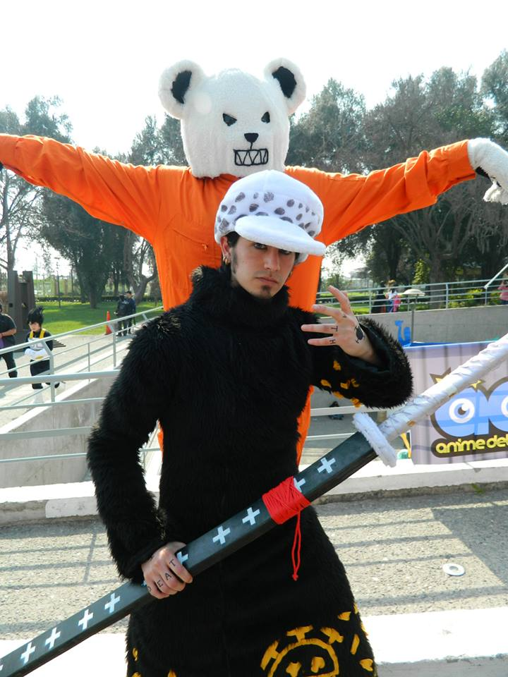 Trafalgar Law and Bepo - One Piece (Cosplay) by ...