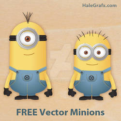 Vector Minions from Despicable Me