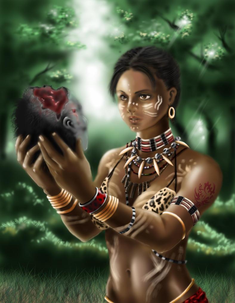 Resident evil 5 sheva tribal criticism write