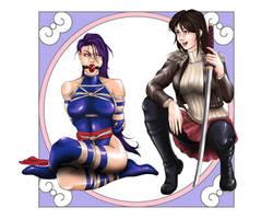 [CM] - Psylocke and Arlen