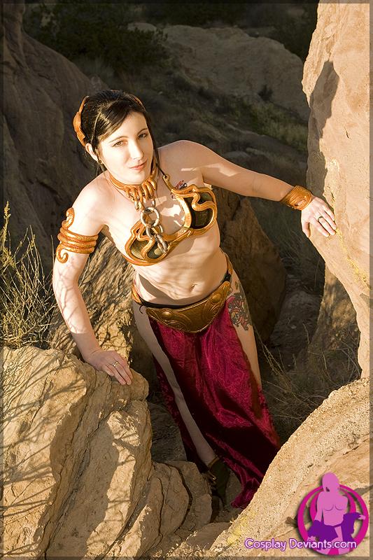 Slave Leia 1 by Mistress-Zelda
