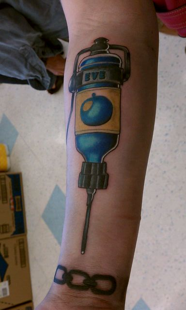 Bioshock tattoo by Mistress-Zelda