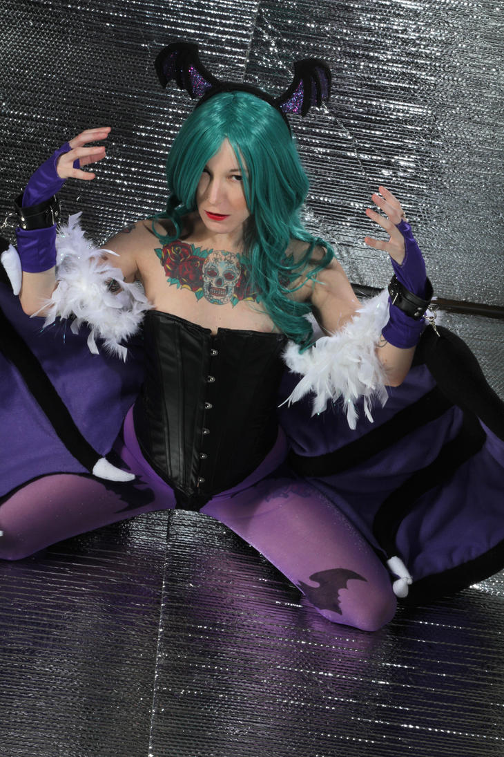 Morrigan MXD 1 by Mistress-Zelda