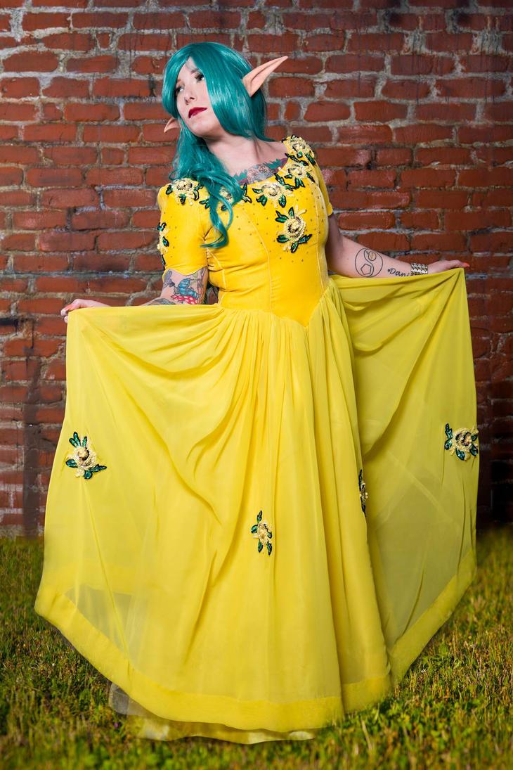 Yellow Elf 1 by Mistress-Zelda