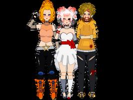 A really odd bunch by Peachy-Gurokawa