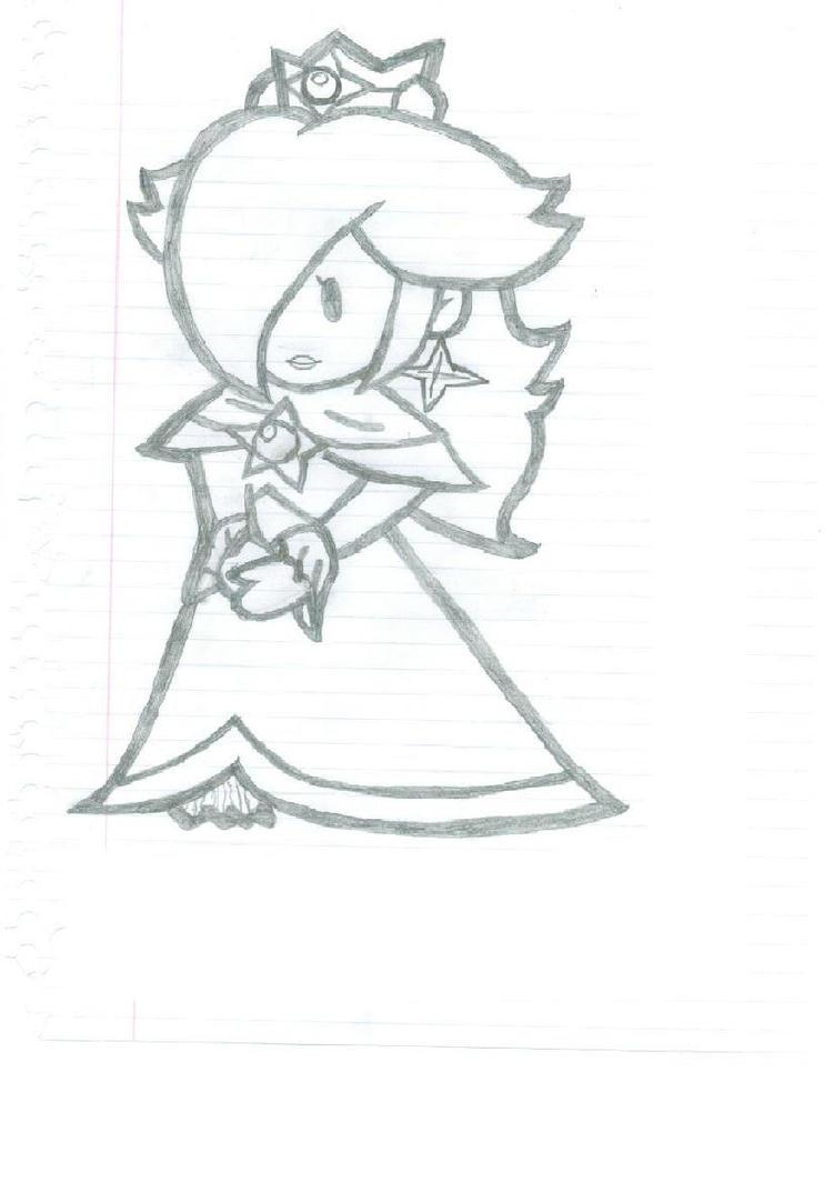Princess peach daisy rosalina coloring pages - Paper Princess Rosalina By 22artrox22 On Deviantart 751x1063 Images Paper Princess Daisy Coloring Pages 931x859 Jpeg 931x859 Nintendo