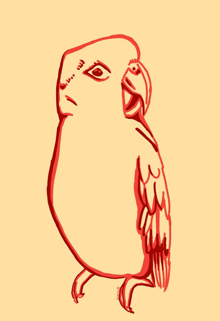 [Rysunki] by Orzech  - Page 3 Fajny_papagei_by_theorzeszek-dbkl9un