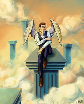 modern angel