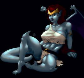 Demona, dark.