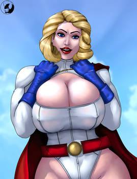 Power Girl squeeze