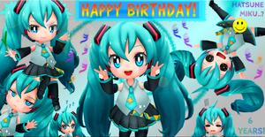 Happy Birthday, Miku  x)