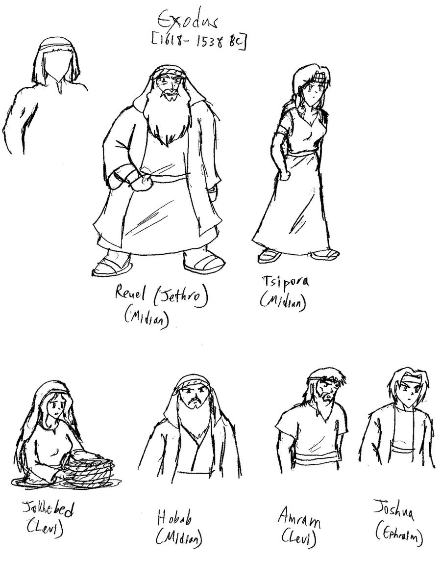 coloring pages of bible characters - photo#25
