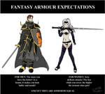 Fantasy Armour Expectations by mandalorianjedi