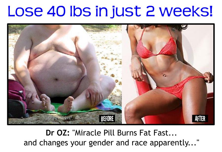 Weight Loss Ad by mandalorianjedi