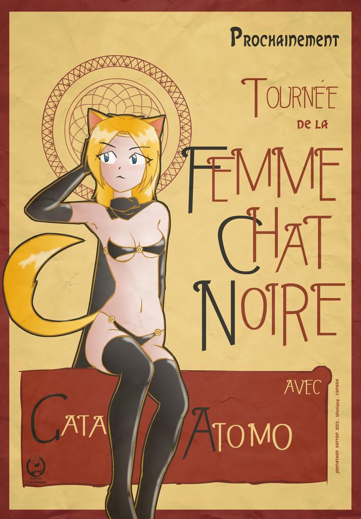 Femme chat noire by mandalorianjedi on deviantart - Femme chat manga ...