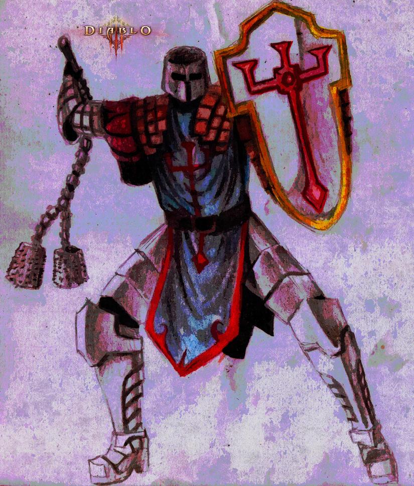 DIablo 3 Crusader by mastercron
