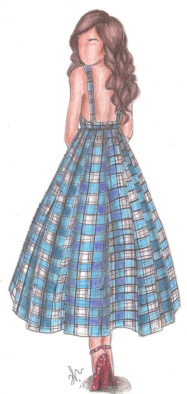 The Wizard of Oz Fashion | Dorothy by VianaDrawings