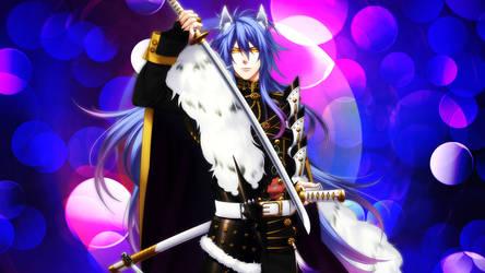 Uesugi Kenshin [Sengoku Night Blood] by icayenne