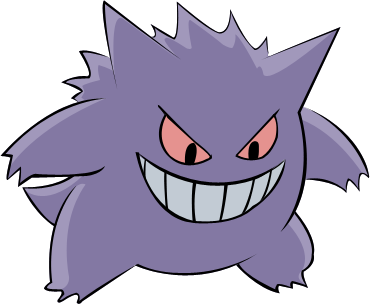Gengar by TheCrucius