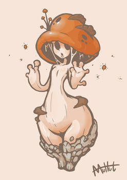 Cute mushroomgirl