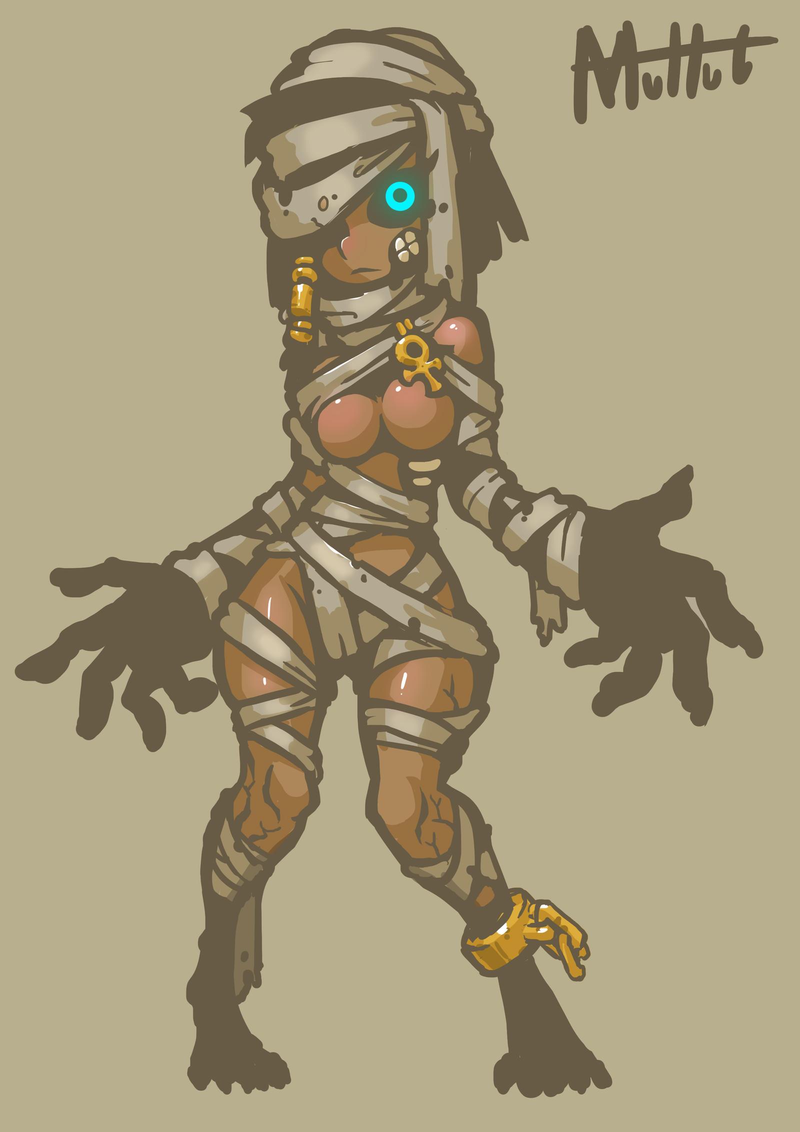 Cute mummy Girl by MuHut